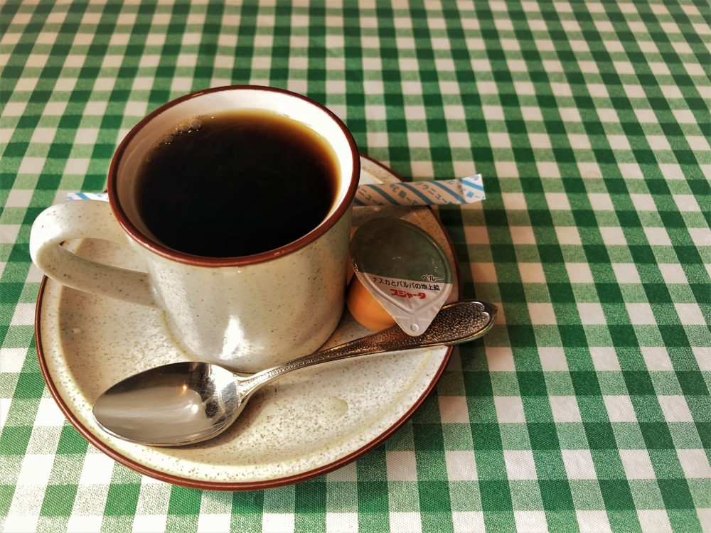 ボンルパのランチセットのコーヒー